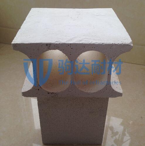 莫来石辊孔砖