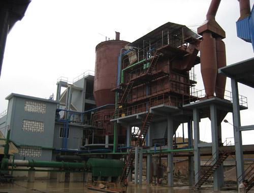 沸腾炉炉型部位和燃烧原理