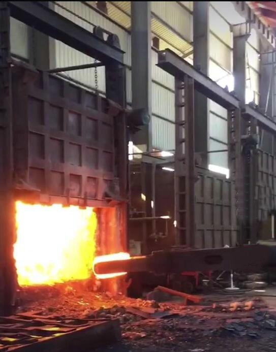 加热炉拱顶浇注料预制件施工及技术改进